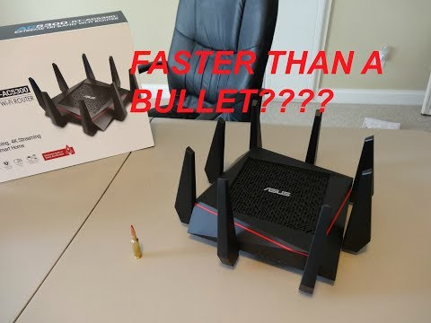 ASUS RT-AC5300 Tri-band router: Speed Test
