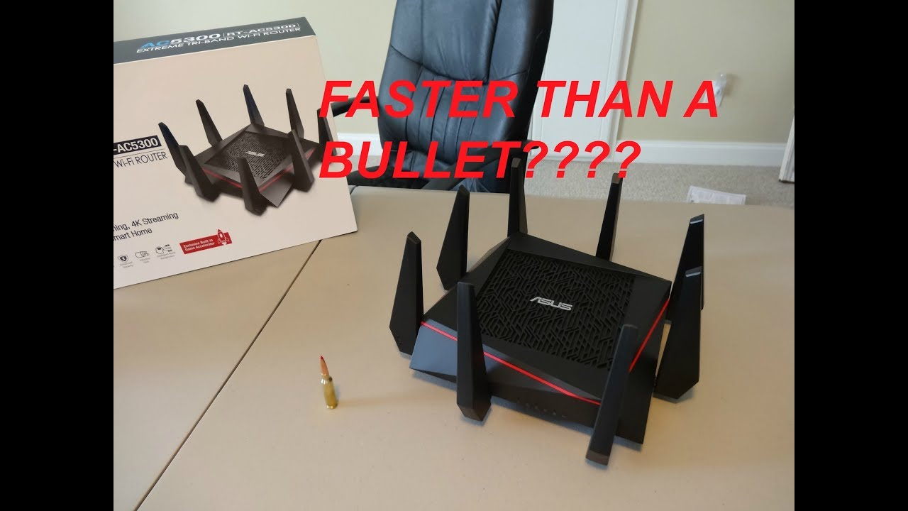 ASUS RT-AC5300 Router Linux