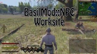 BasilMod::NPC - WorkSite Tutorial