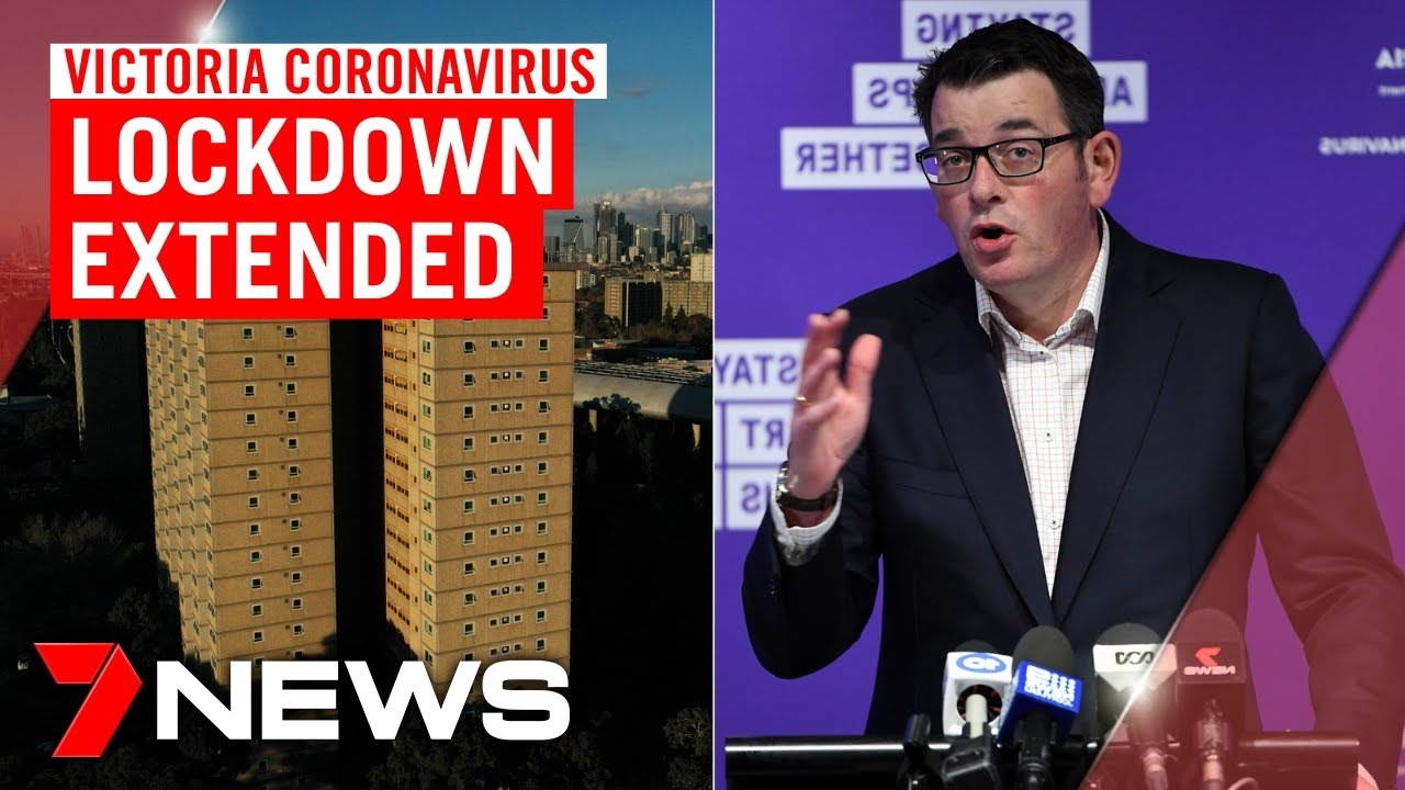 Victoria coronavirus update: Lockdown extended for public housing residents | 7NEWS