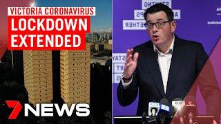 Victoria Coronavirus Update: Lockdown Extended For Public Housing Residents | 7news