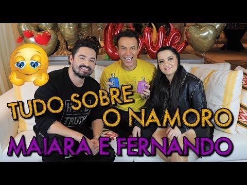 TUDO SOBRE O NAMORO DE MAIARA E FERNANDO  Club6Class JuntosParaAcontecer Eudora