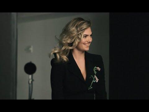 On Set With Kate Upton at Zac Posen's Spring 2018 Shoot