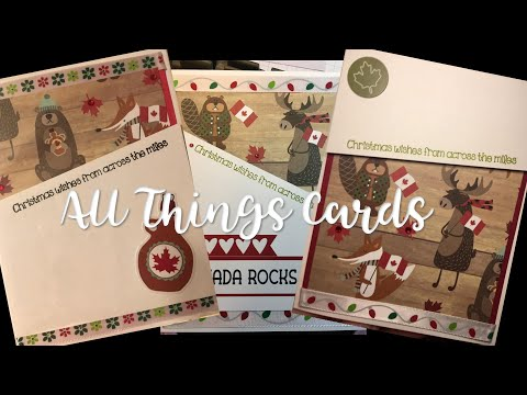 Across The Miles - Christmas Cards From Canada