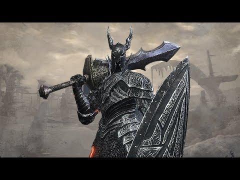 Dark Souls 3 PvP - Black Knight Ultra Great Sword
