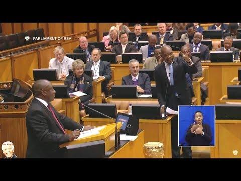 Mmusi Maimane Challenge Cyril Ramaphosa In Parliament