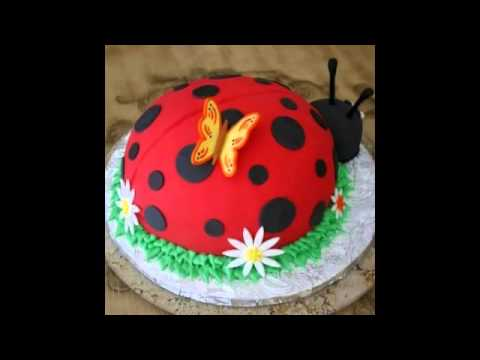Ladybug Cake Decorating Kit