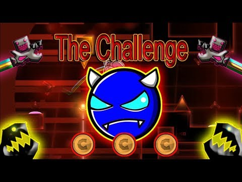 """The Challenge"" [Demon?] by Osiris! | Geometry Dash (255) ElBrocasYT"