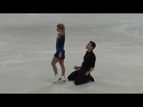 Kirsten MOORE TOWERS & Michael MARINARO CAN Short Program 2019 Nebelhorn Trophy