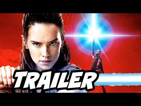 Star Wars The Last Jedi D23 Trailer - Behind The Scenes Breakdown