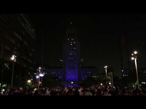 DJ Nights theme at Dance DTLA at Grand Park. June 30, 2017