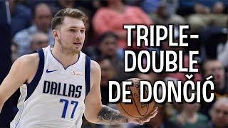O primeiro TRIPLE-DOUBLE de LUKA DONČIĆ na NBA!
