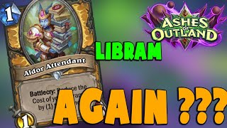 HEARTHSTONE DECK #342: CONTROL LIBRAM PALADIN | Ashes of Outland | Gasenpai