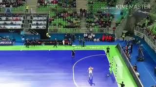 Казахстан-Испания 5:5 (по пен.1:3) Полуфинал Чемпионат Европы-2018 по футзалу