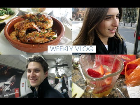 London Shopping & Strawberry Margaritas | Lily Pebbles Weekly Vlog