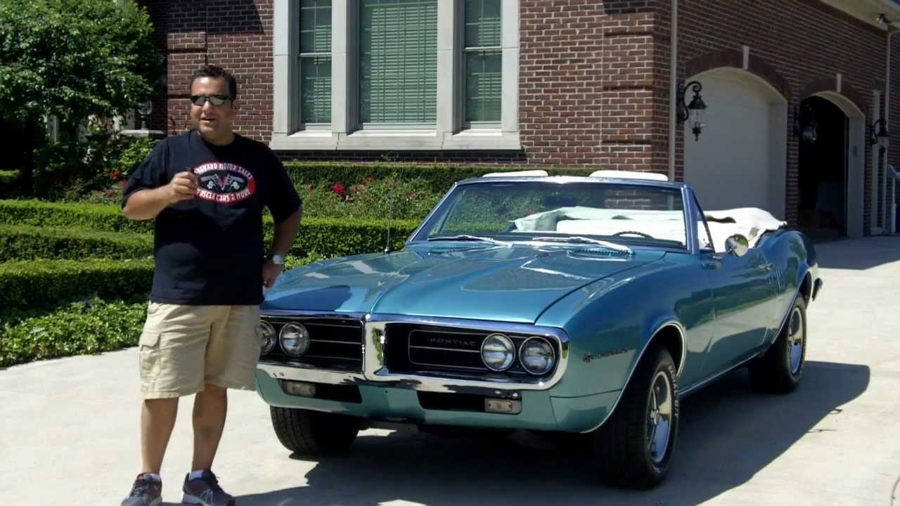 1967 pontiac firebird convertible classic muscle car for for Vanguard motors for sale