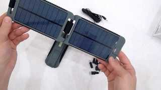 Video review solar charger