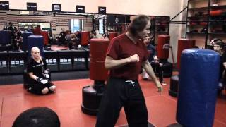 "Kick Boxing Combination #4 by Sensei Benny ""The Jet"" Urquidez"