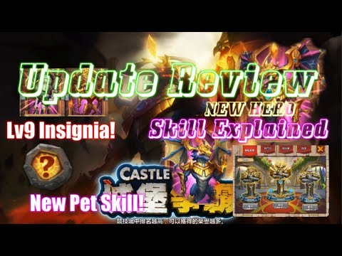 June Update Review - Insane New Event Hero, Pet , Insignia LV9 - Castle Clash