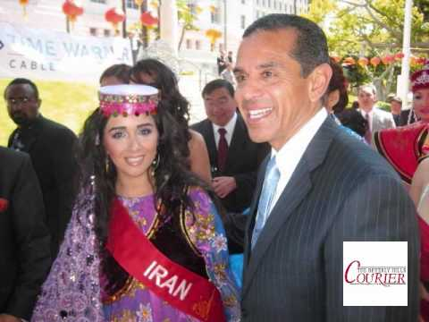 Beverly Hills Courier Iran S Miss Asia Usa Pageant Representative Youtube