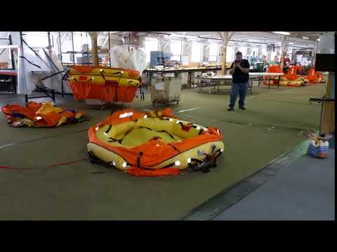 SWITLIK CPR Life Raft Inflation Test