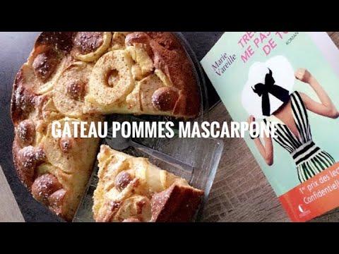 gâteau-pommes-🍎-mascarpone-délicieux-et-léger-en-bouche