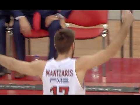 Olympiacos broke the record with most three pointers in EuroLeague playoffs games