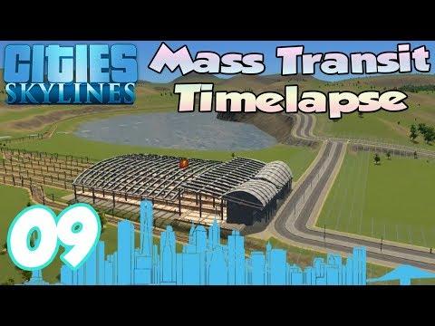 Cities Skylines: Mass Transit Timelapse Ep.9 | Transport Hub!