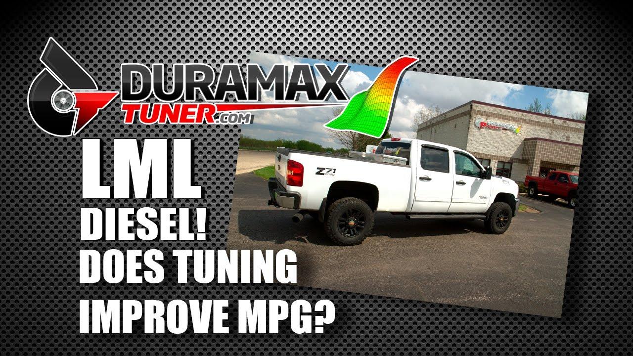 LML Duramax Diesel Tuning & Miles Per Gallon - IMPROVED MPG? - YouTube