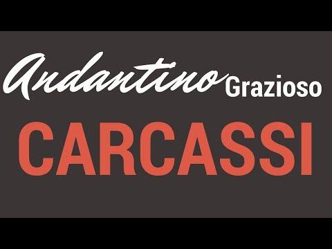 Carcass - Sonatina III Op1 Andante Graciozo