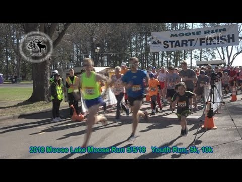 Moose Lake MN Annual Moose Run 2018