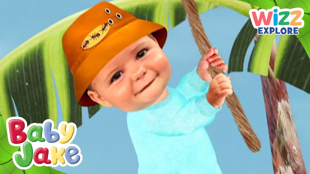 Baby Jake | Swinging Really High! | Full Episodes | Wizz ...