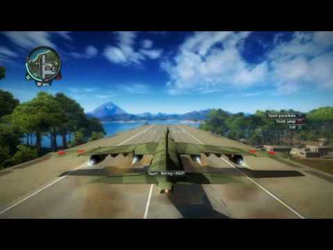 Just Cause 2 - (Where to Find) Largest Plane in the Game Location