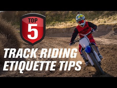Top 5 Motocross Track Riding Etiquette Tips