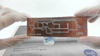 Video Quemado de circuitos impresos en baquelita (PCB) download MP3, 3GP, MP4, WEBM, AVI, FLV November 2017