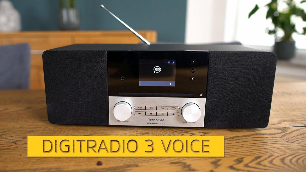 Video: Weltneuheit: DIGITRADIO 3 Voice - Erstes Digitalradio mit internetunabhängiger Sprachsteuerung.