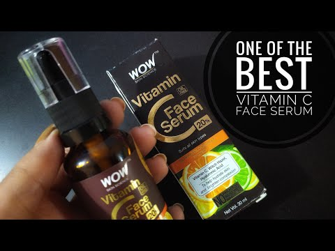 New Wow skin Science 20% Vitamin C Face Serum | 1-week experience & review | Oily Sensitive skin