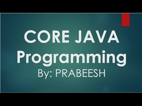 Core Java - 17 - Private & Public access specifiers