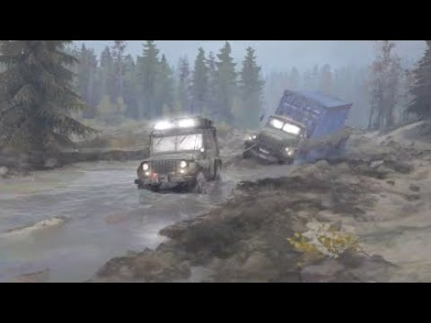 spintires mudrunner ps4 what will a jeep pull out of the. Black Bedroom Furniture Sets. Home Design Ideas