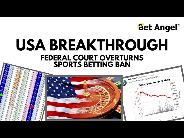 Breakthrough in the US as Federal court overturns sports betting ban