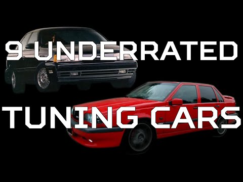9 Underrated Tuning Cars