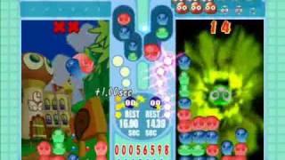 Puyo Pop Fever PC: Peach vs Kirby