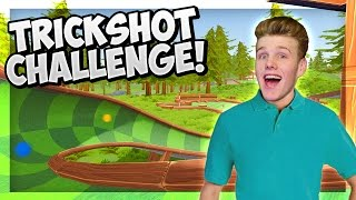 TRICK SHOTS ONLY! | Golf with Friends!