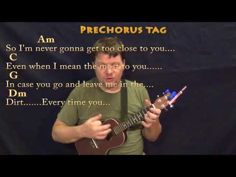 Too Good At Goodbyes (Sam Smith) Ukulele Cover Lesson In Am With Chords/Lyrics