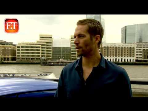 Paul Walker s Last ET Interview R I P