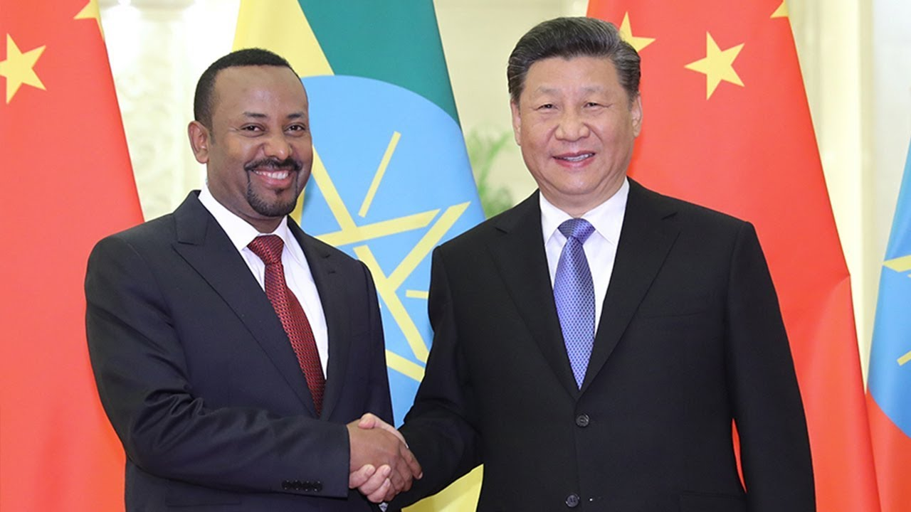 Xi calls for China, Ethiopia to strengthen cooperation under BRI - YouTube