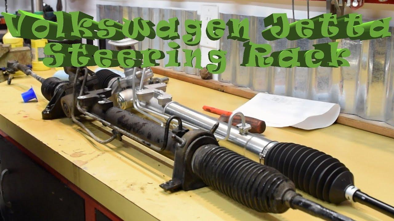 volkswagen jetta steering rack install 2000 tdi