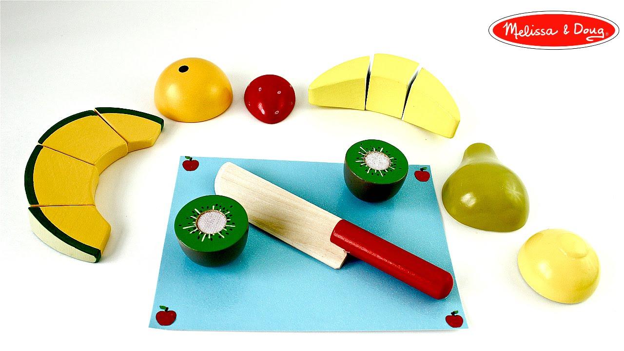 Juego de frutas de madera para cortar wooden cutting - Jugueteros de madera ...