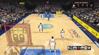 NBA 2K15 lucky shot