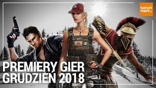 Premiery gier - grudzień 2018